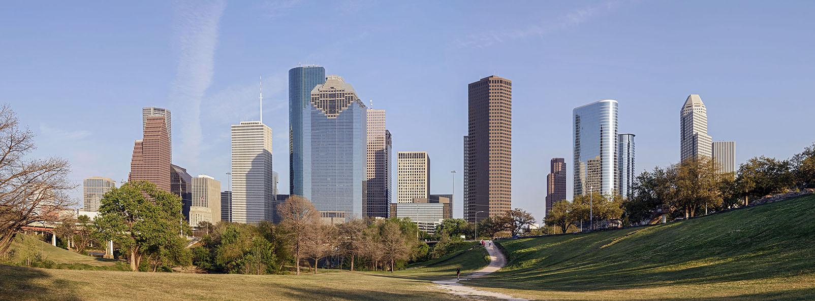 Houston Panoramic view